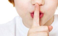 Kokių tėvų paslapčių nereikia žinoti vaikams