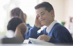 Svarbi sąlyga, kad vaikas norėtų mokytis ir jam sektųsi