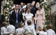 Viskas, ką norėjote sužinoti apie Pippa'os Middleton vestuves (FOTO)