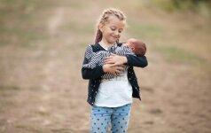Psichologė: kas nutinka, kai šeimoje gimsta antras vaikas