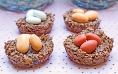 Greitai pagaminamas skanėstas, kuris papuoš Velykų stalą ir patiks vaikams