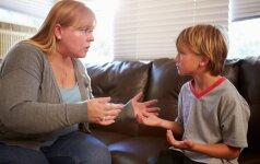 Klaidos, kurias daro tėvai kalbėdami apie seksą