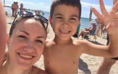 Praktiški patarimai atostogaujantiems su vaikais