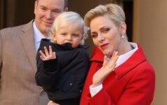 Atskleidė, kaip atrodo gimtadienį švenčiantys karališkieji Monako dvyniai FOTO