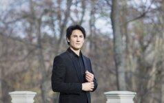 Pianistas Kasparas Uinskas Lietuvoje surengs tris solinius koncertus. Laimėkite bilietus!