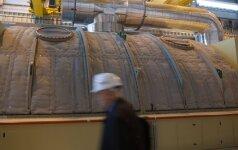 Почти сразу после подключения испортился блок электростанции Lietuvos elektrine