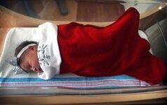 Per Kalėdas gimę naujagimiai namo keliauja kojinėse
