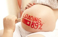 Piešiniai ant nėščiosios pilvo: gražu ar bjauru? Foto
