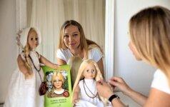 Įkvėpta motinystės lietuvė sukūrė knygą, kuri vaikus nukels į XVI amžių