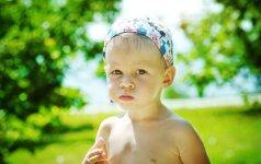 Vaikų gydytoja – apie karščio ir saulės pavojus