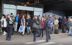 Talino oro uostas evakuotas dėl grasinimo susprogdinti bombą