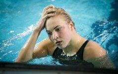 Неожиданный результат: 18-летняя пловчиха опередила Руту Мейлутите