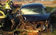Šiurpą kelianti avarija: vienas vairuotojų girtas, kitam atimta teisė vairuoti