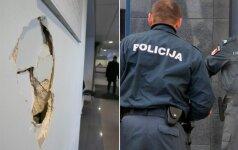 Пытавшийся скрыться от полиции подозреваемый пробил головой стену