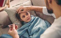 Aktualu tėvams: sergančio vaiko slauga ir išmokos