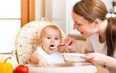Svarus argumentas, kodėl nereikia vaikų versti valgyti