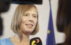 Литву посетит новый президент Эстонии