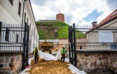 Геологи представят рекомендации по спасению горы Гедиминаса