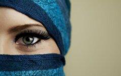 Tokių hidžabų dar nematei