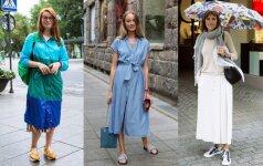 Vilniaus gatvės mada: lietingas oras – ne kliūtis kurti stilingą įvaizdį