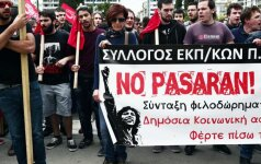 Греция замерла в трехдневной всеобщей забастовке
