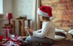 Autizmą turintis vaikas sutiko Kalėdų senelį: jaudinanti pamoka mums visiems
