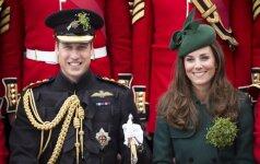 Princas Williamas atsakė į klausimą, ar jo žmona laukiasi