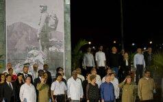 Куба простилась с Фиделем Кастро скромной церемонией похорон
