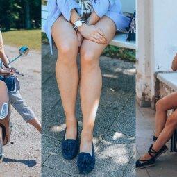 Trys batų tipai, kurie privalo atsidurti jūsų atostogų lagamine