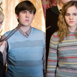"""Po 17 metų jie vėl drauge! """"Hario Poterio"""" aktoriai, pozuojantys kartu - neįtikėtinai pasikeitę (FOTO)"""