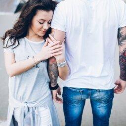 Šie 5 požymiai rodo, jog jis į tave žiūri nerimtai