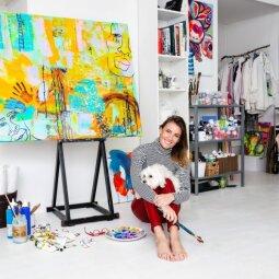 """KONKURSAS BAIGTAS. Susipažink su Karolinos Jarmalytės kūryba, prenumeruok """"PANELĘ"""" ir laimėk originalią kuprinę!"""