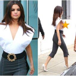 O varge... vargšė Selenytė! S. Gomez ir vėl įsivėlė į atviros aprangos skandalą (FOTO)
