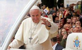 Popiežius Pranciškus Kauno rotušėje