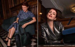 Erica Jennings tapo lietuviškų rankinių prekių ženklo veidu