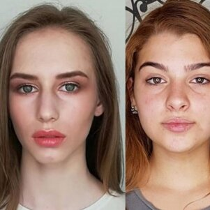 Išleistuvių inspiracijai: stulbinantys abiturienčių grožio pokyčiai (FOTO)