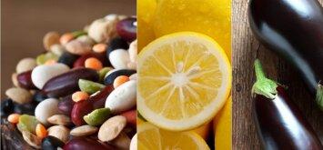 Kokį pavojų sveikatai gali sukelti pupelės, baklažanai ir citrinos žievelė?