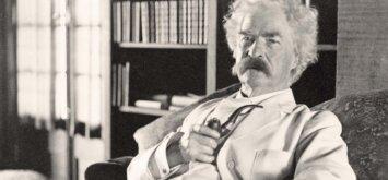 Devyni pagrindiniai Marko Twaino patarimai, kaip elgtis, kad gyvenimas būtų nuostabesnis