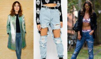 5 madingiausios džinsų tendencijos rudeniui (FOTO)