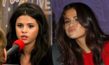 Nauja Selenos Gomez šukuosena – senamadiška įvaizdžio klaida?(FOTO)