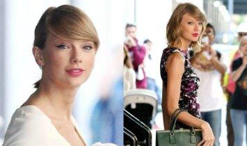Netikėtas Taylor Swift aksesuaras – džiaugsmas paparacų akims(FOTO)