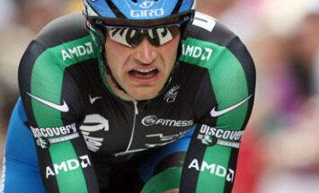 Tomas Vaitkus įveikia Tour de France prologą