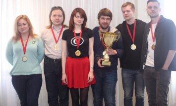 Золото по итогам двухдневного фестиваля - команде Здоровенный Я