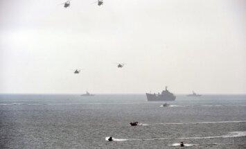 Žiniasklaida: Azovo jūroje – šarvuotas Ukrainos pajėgų kateris