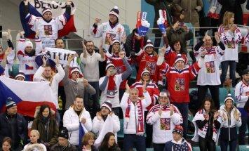 Olimpinių žaidynių ledo ritulio ketvirtfinalis, JAV - Čekija