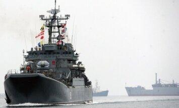 Kariniai laivai, Ukraina, Krymas, Juodoji jūra