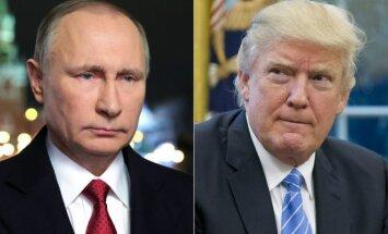 Vladimiras Putinas ir Donaldas Trumpas