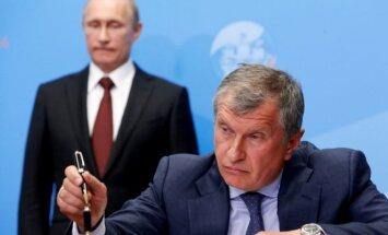 Vladimiras Putinas, Igoris Sečinas