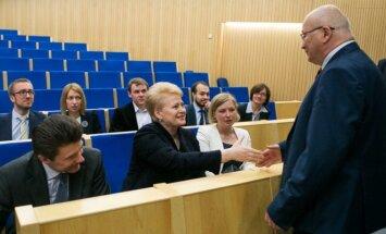 Dalia Grybauskaitė, Zenonas Vaigauskas