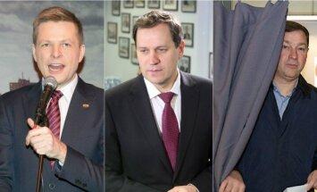 Remigijus Šimašius, Valdemaras Tomaševskis ir Artūras Zuokas